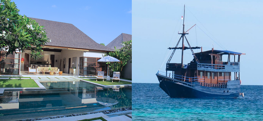 Nyaman Group-package-luxury-villa-Bali-and-cruising-ship-in-komodo-national-park