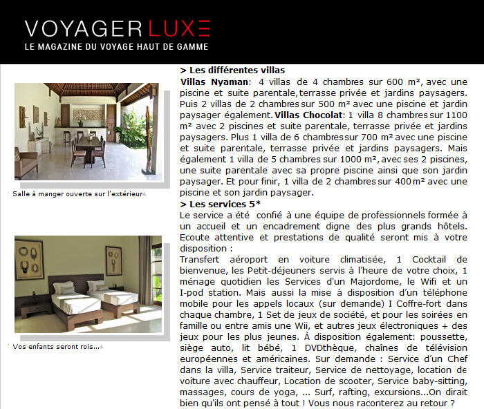 Nyaman Group Indonesia - Press - Voyager Luxe part 4
