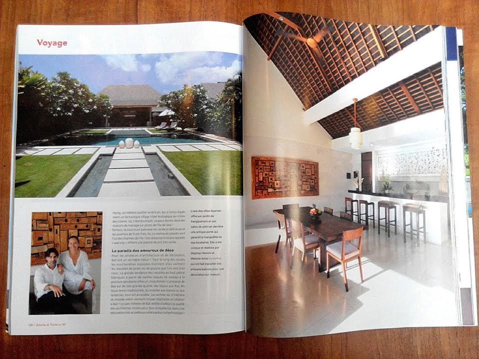 Nyaman Group Indonesia - Press - J&V IS A FRENCH-BELGIAN LIFESTYLE MAGAZINE