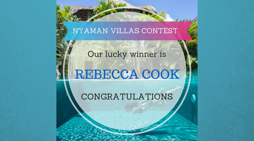 NYAMAN VILLAS CONTEST - WE HAVE A LUCKY WINNER