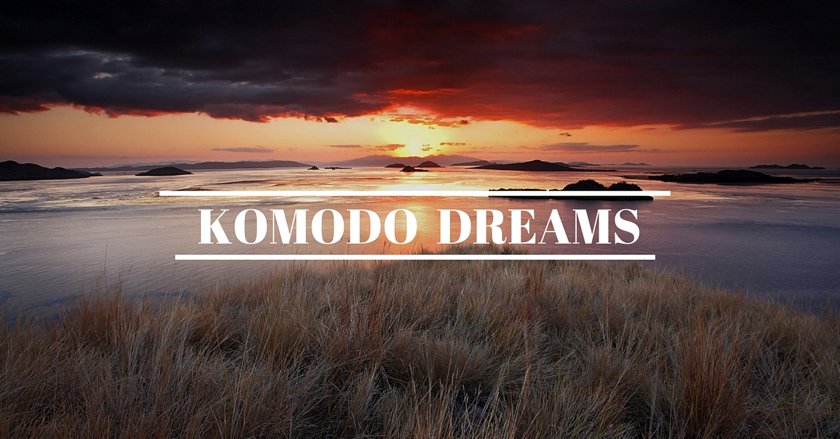 komodo sunset