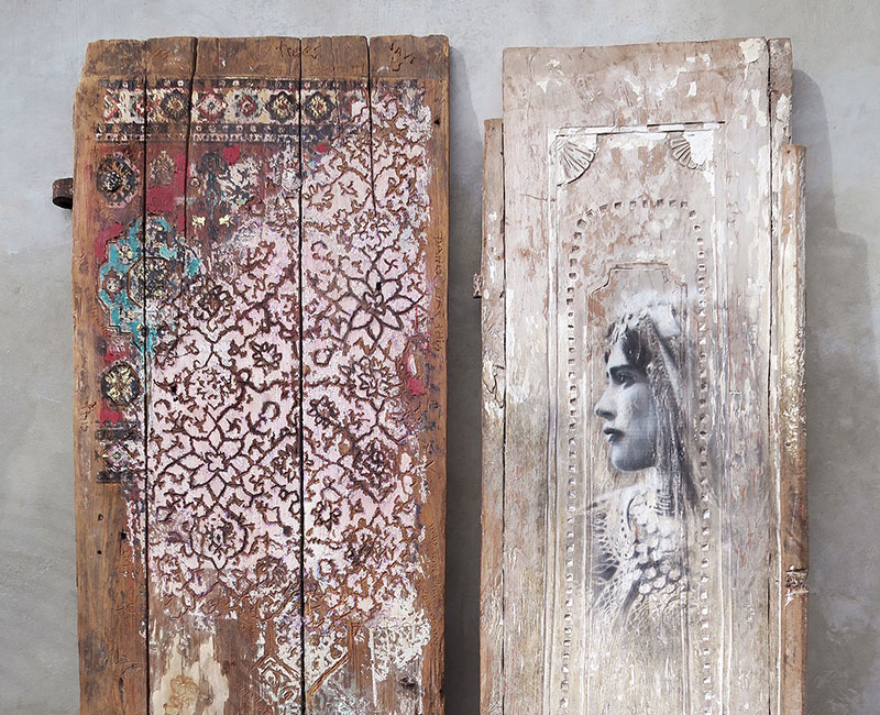 YOKII Doors Photograph in Nyaman Gallery
