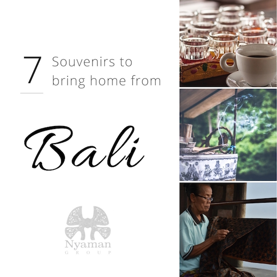 Souvenirs to bring home from Bali