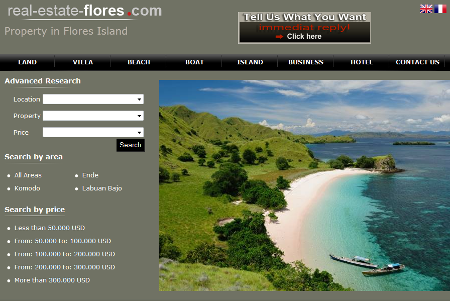 Nyaman Group - real estate Flores - first real estate agency in Flores island