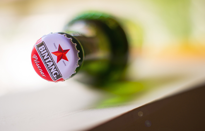 We offer you one case of 24 Bintang beers to share with your friends!