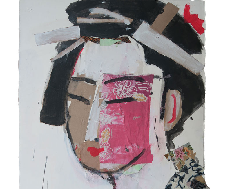 Geisha by JEAN-MICHEL AUCLER in Nyaman Gallery